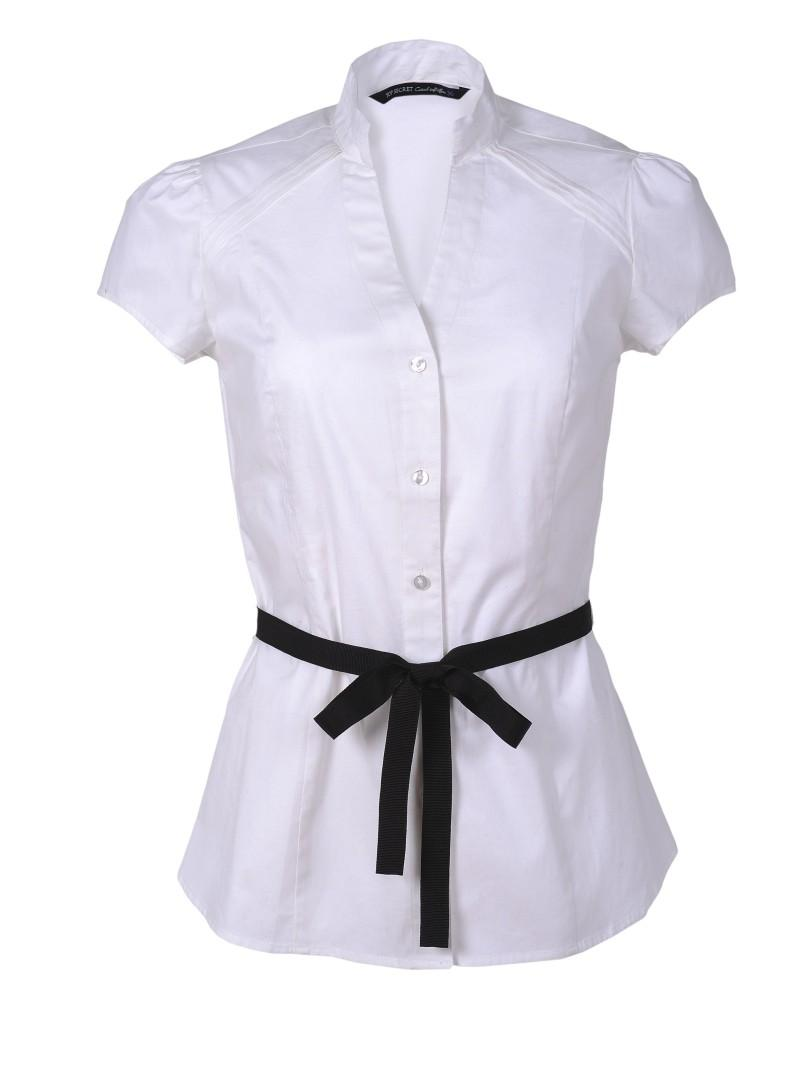 biała koszula Top Secret - trendy wiosna-lato