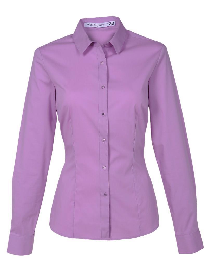 różowa koszula Top Secret - z kolekcji wiosna-lato 2011