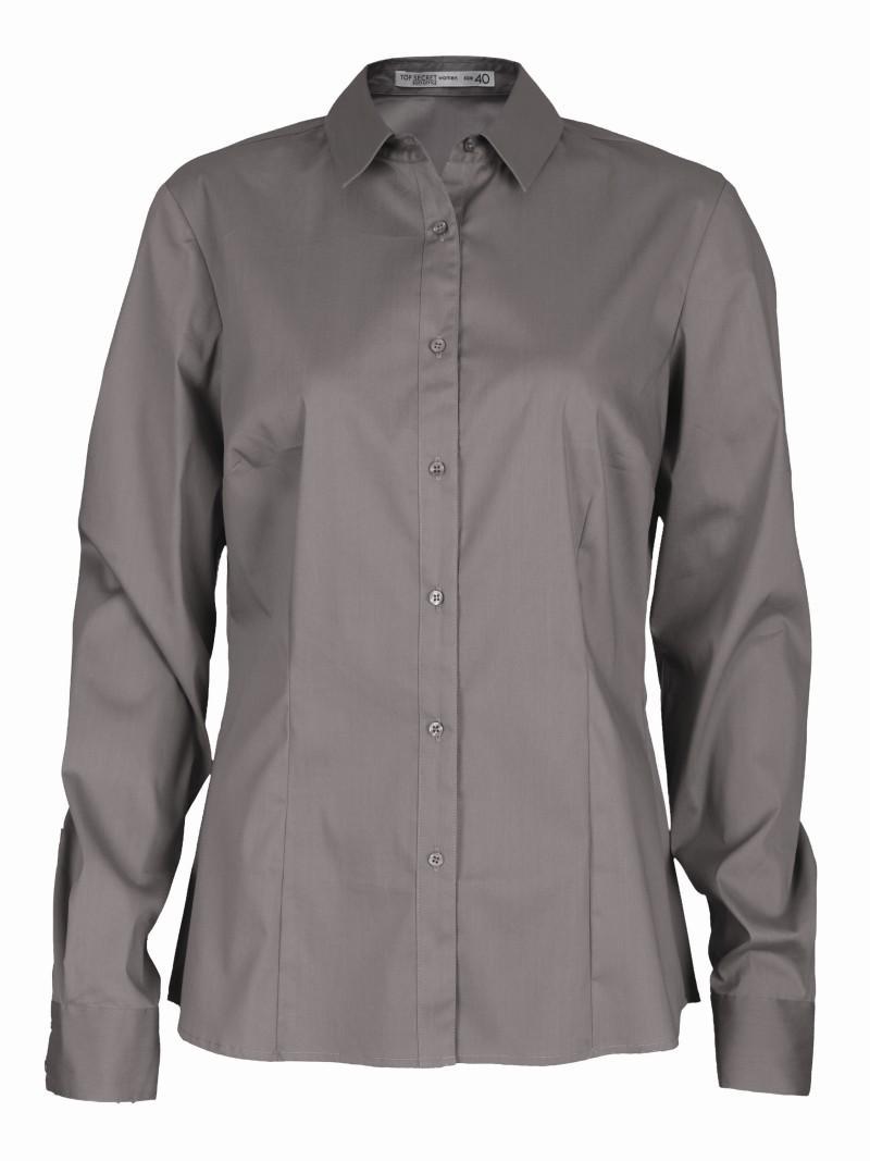 brązowa koszula Top Secret - kolekcja wiosenno/letnia