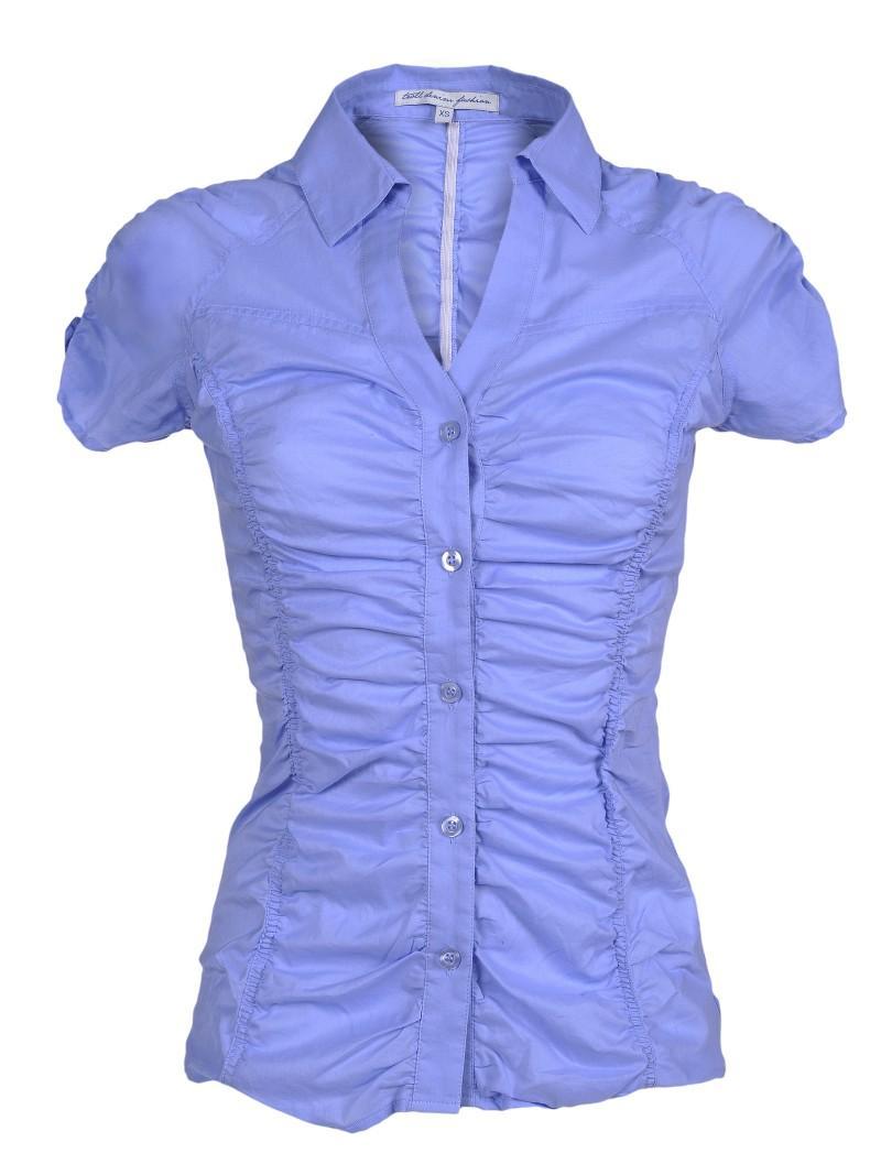 niebieska koszula Troll - wiosna-lato 2011