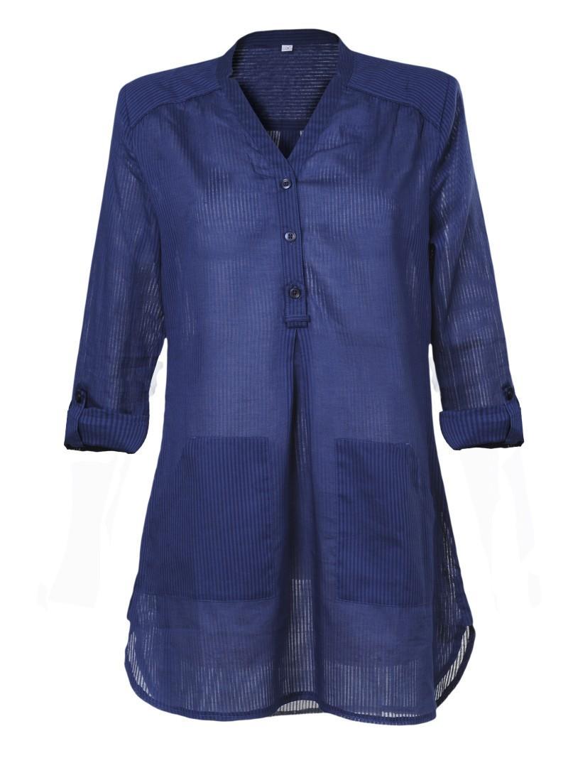 niebieska tunika Troll - z kolekcji wiosna-lato 2011