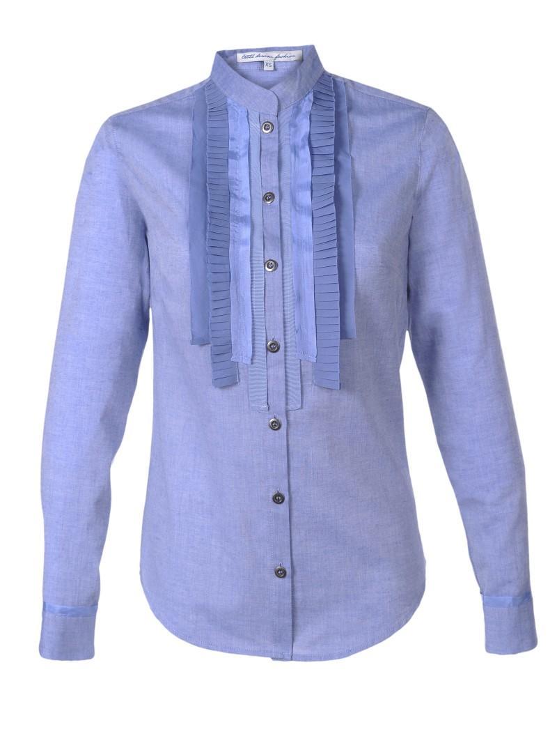 błękitna koszula Troll - wiosna 2011