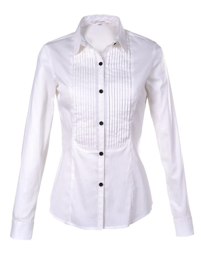 biała koszula Troll - moda wiosna/lato