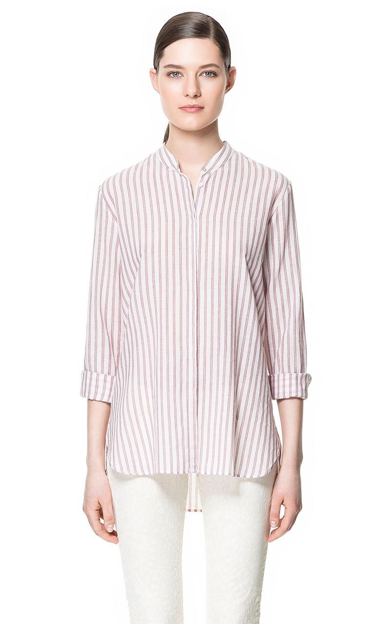 koszula ZARA w paski - trendy na lato 2013