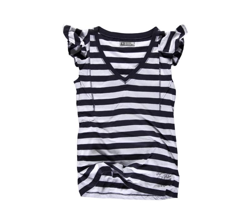 granatowa koszulka Top Secret z aplikacją - kolekcja na lato