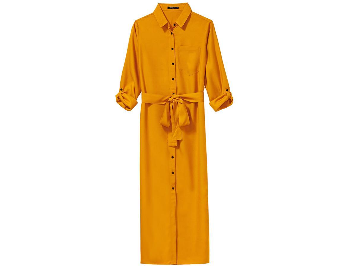 koszulowa sukienka Mohito