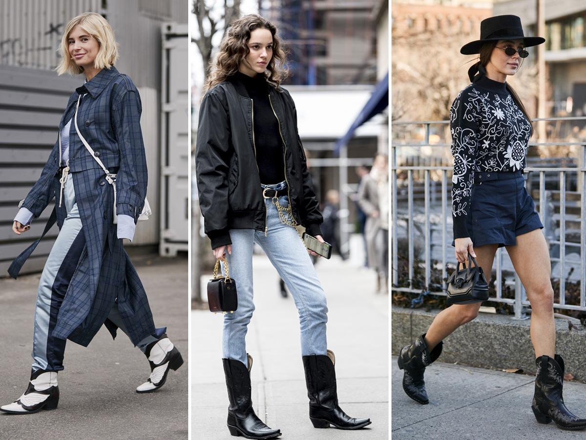 Kowbojki damskie: jak nosić, stylizacje