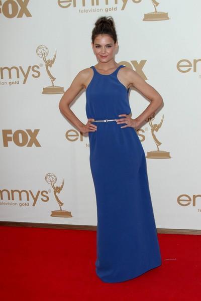 Katie Holmes - Kreacje gwiazd na gali Emmy 2011