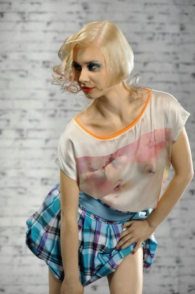 Kreatywne fryzury dla kobiet - kolekcja wiosenno-letnia 2013