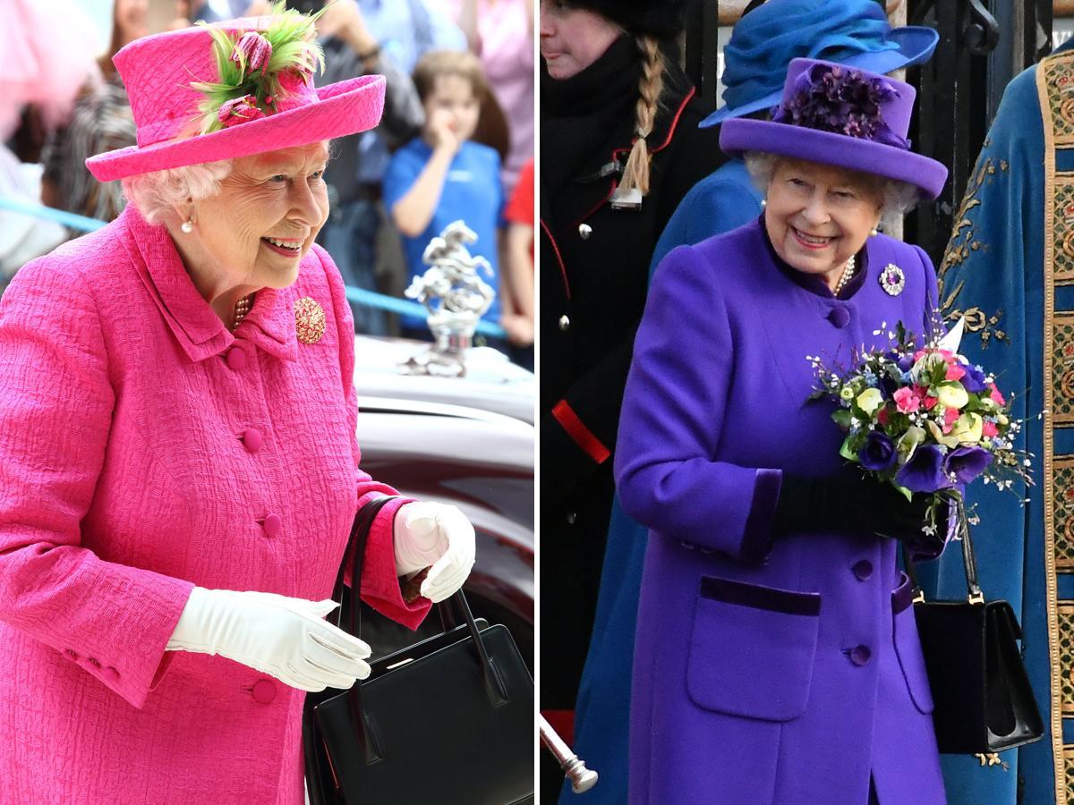 królowa Elżbieta zawsze nosi rękawiczki