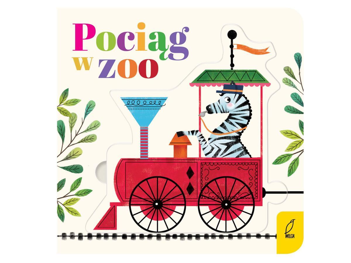 Książka pociąg w zoo