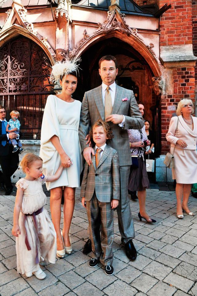 Księżna Dominika Kulczyk- Lubomirska i książę Jan Lubomirski-Lanckoroński - Dziesięć lat po ślubie