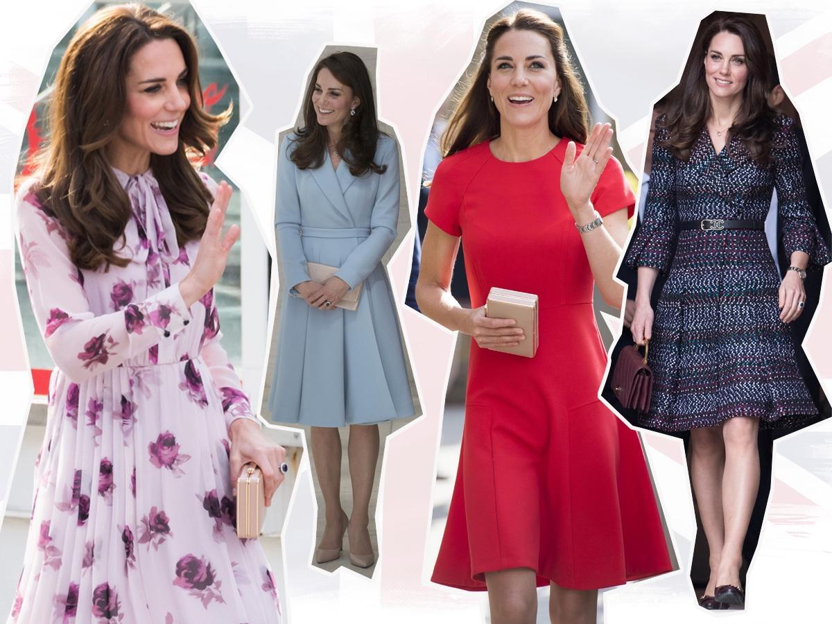 Księżna Kate często pokazuje się kilka razy w tym samym ubraniu. Czy te rzeczy będziemy miały okazję oglądać w Polsce?