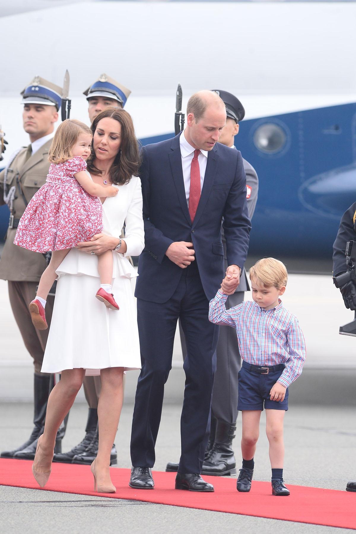 księżna Kate, książę William w Polsce