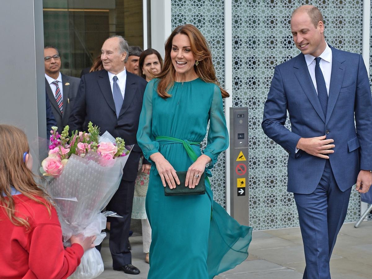 księżna Kate w czwartej ciąży