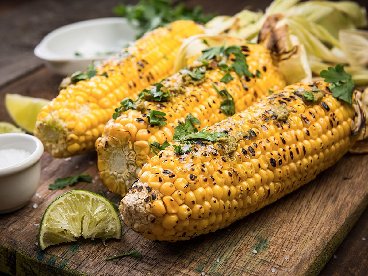 kukurydza z grilla bez gotowania