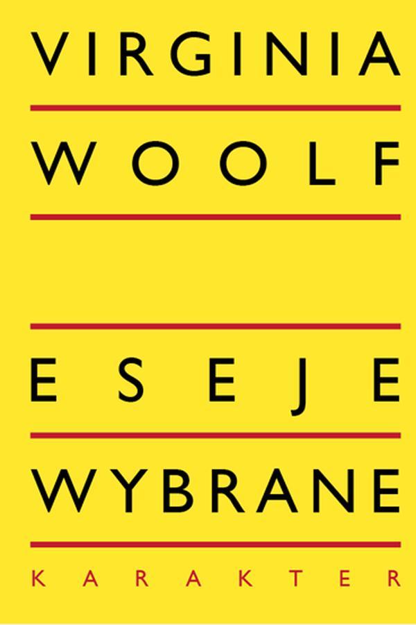 Virginia Woolf, Eseje wybrane, cena