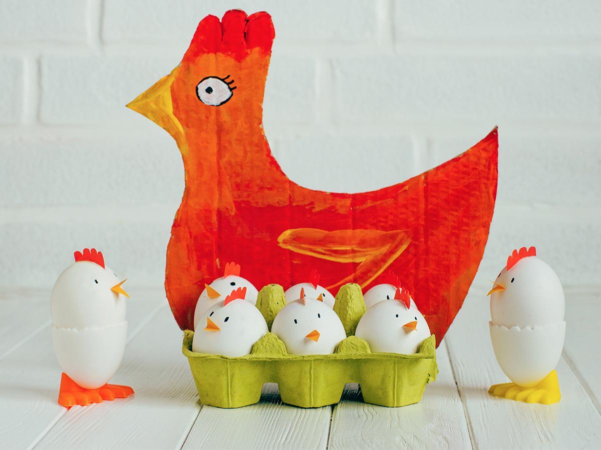 kurczaczek z jajek