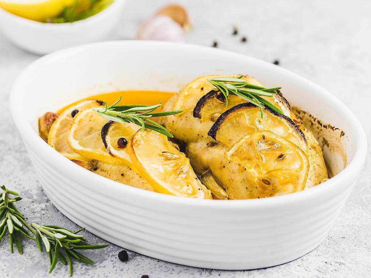 przepis na kurczaka w sosie cytrynowym fit