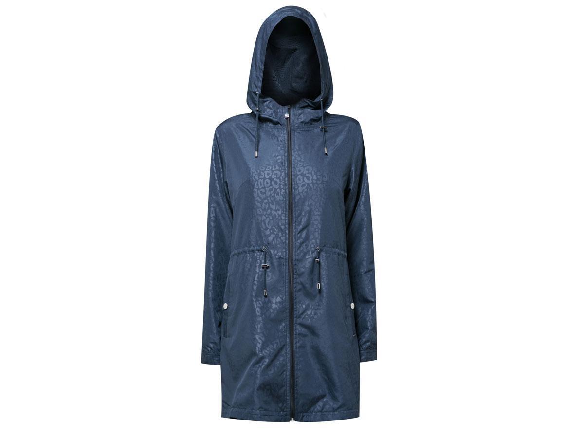 Granatowa kurtka przeciwdeszczowa, Monnari, cena ok. 459,00 zł