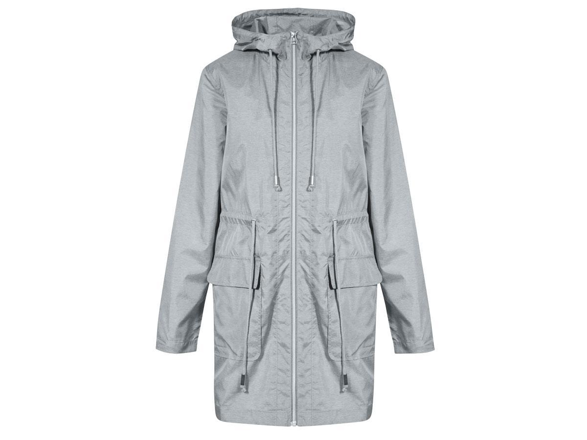 Szara kurtka przeciwdeszczowa, Quiosque, cena ok. 199,90 zł