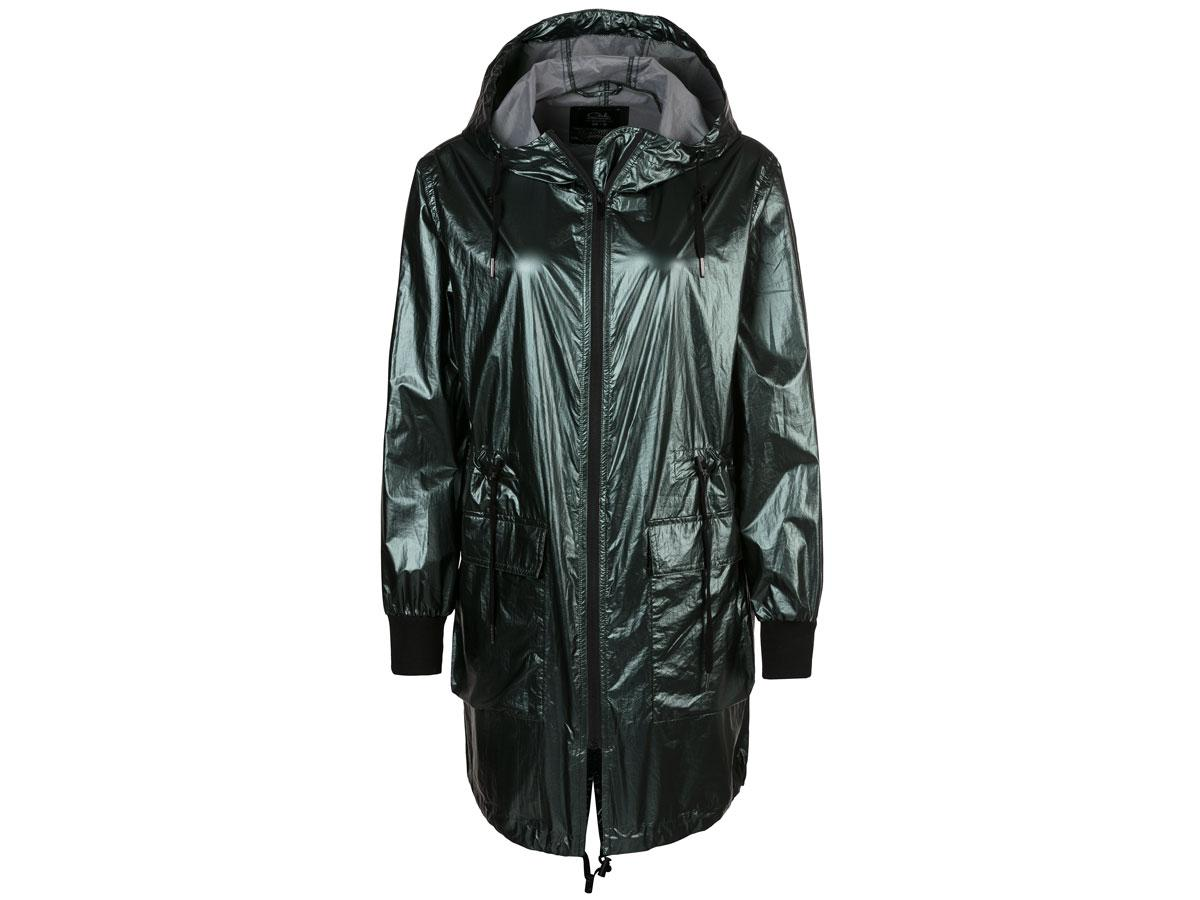 Błyszcząca kurtka przeciwdeszczowa, C&A, cena ok. 159,00 zł