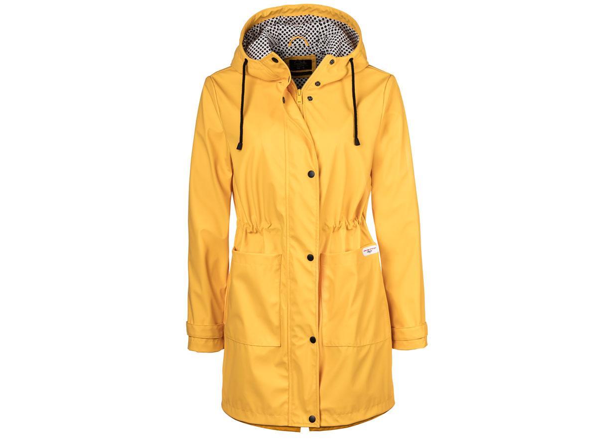 Żółta kurtka przeciwdeszczowa, C&A, cena ok. 159,00 zł