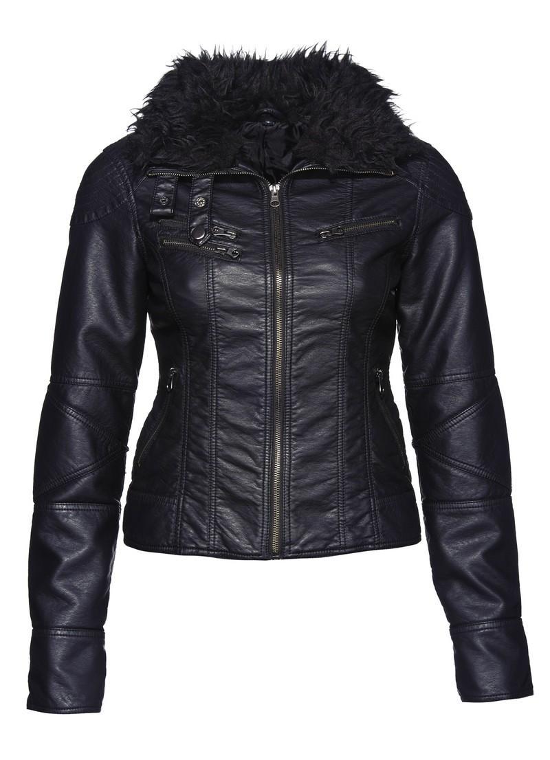 7b26aaf3e170a czarna kurtka New Yorker - kolekcja zimowa - Kurtki i płaszcze New ...