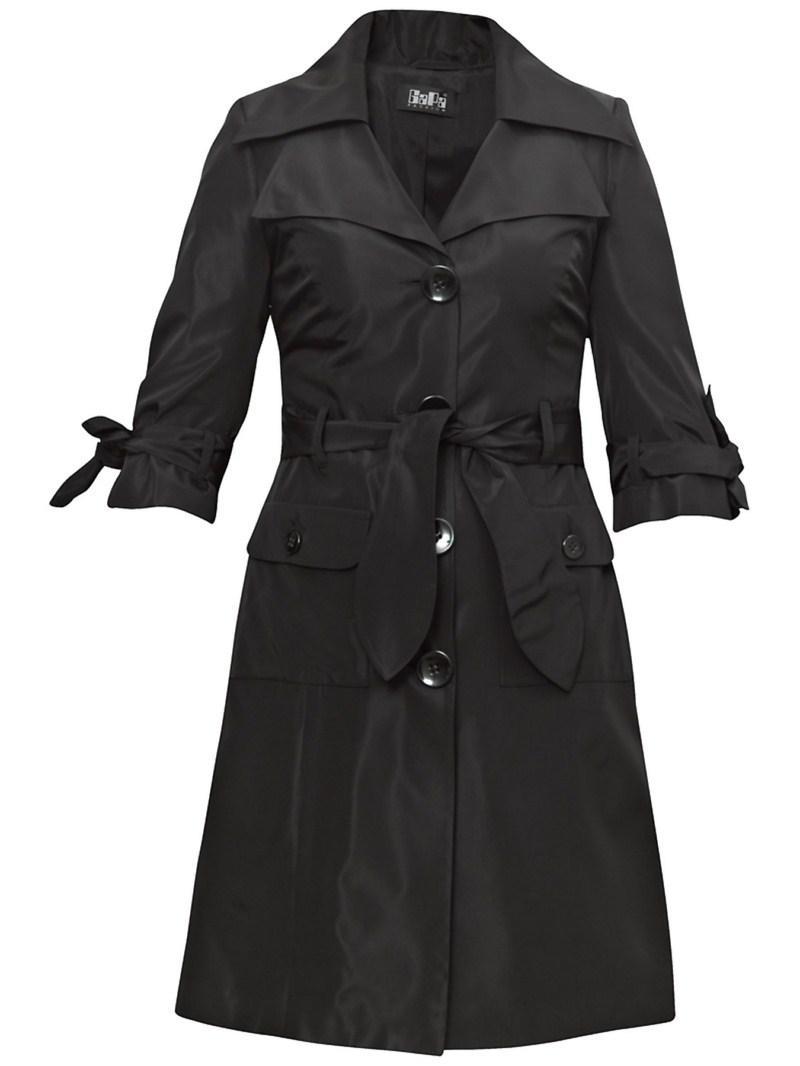 czarny płaszczyk Gapa Fashion - kolekcja wiosenna