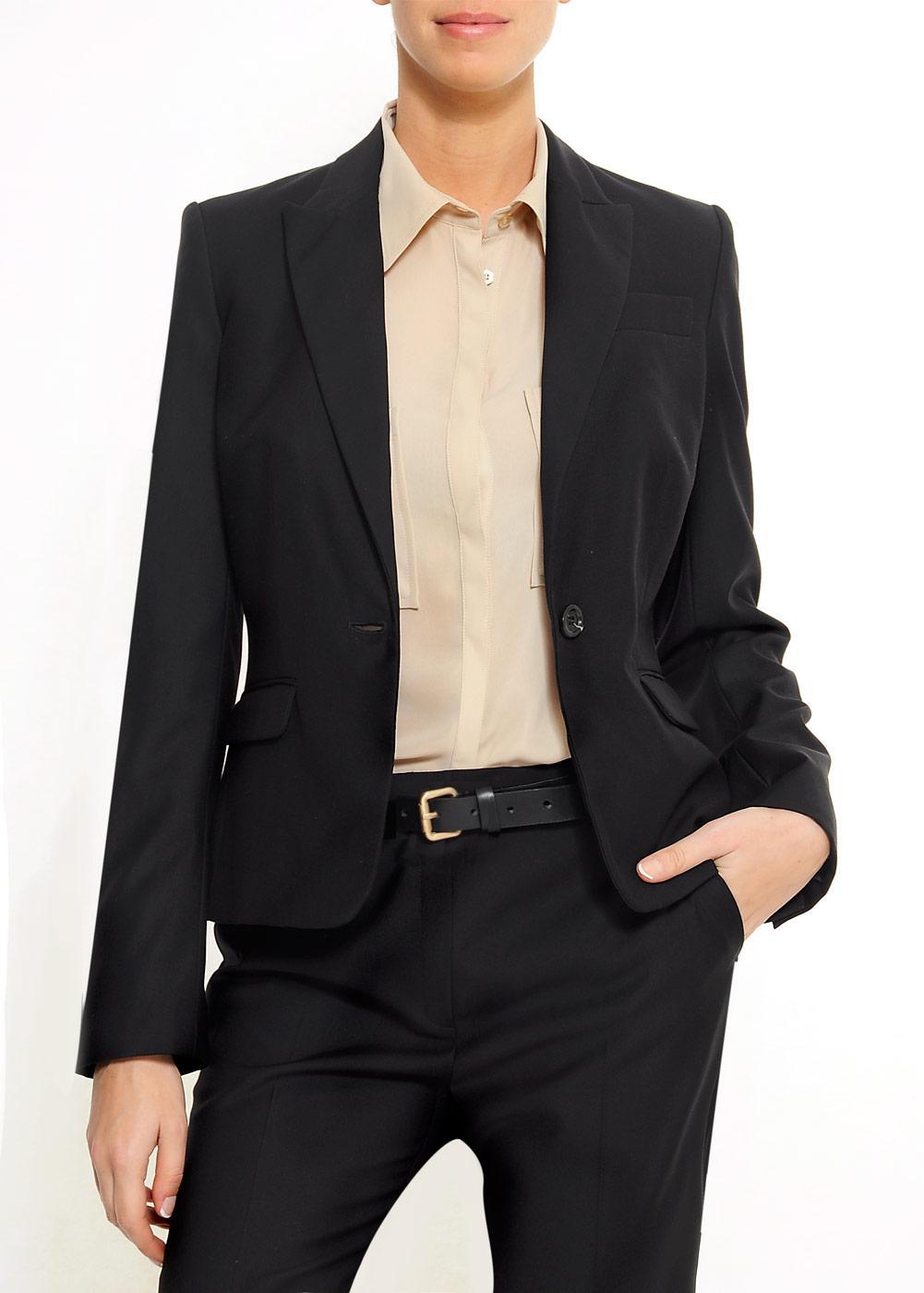 czarna marynarka Mango - moda 2011