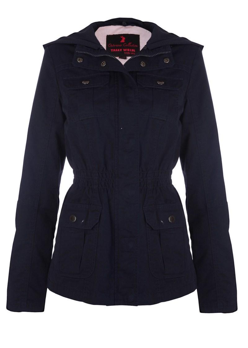 czarna kurtka Tally Weijl - kolekcja wiosenna