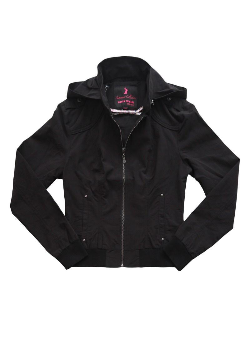 czarna kurtka Tally Weijl - moda 2011