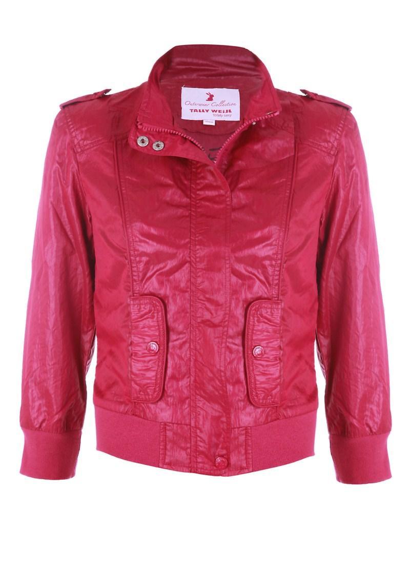 czerwona kurtka Tally Weijl - wiosenna kolekcja