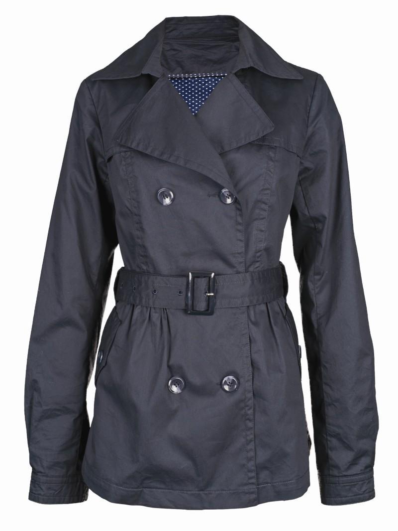 czarny płaszczyk Top Secret - wiosna 2011