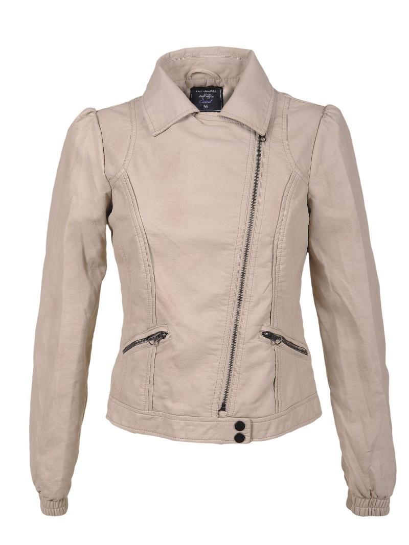 beżowa kurtka Top Secret - wiosenna kolekcja