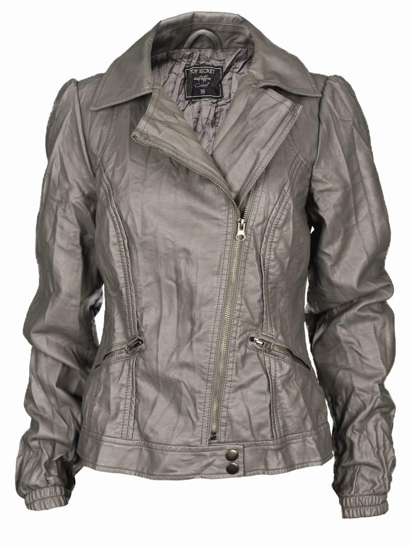 srebrna kurtka Top Secret - wiosna 2011