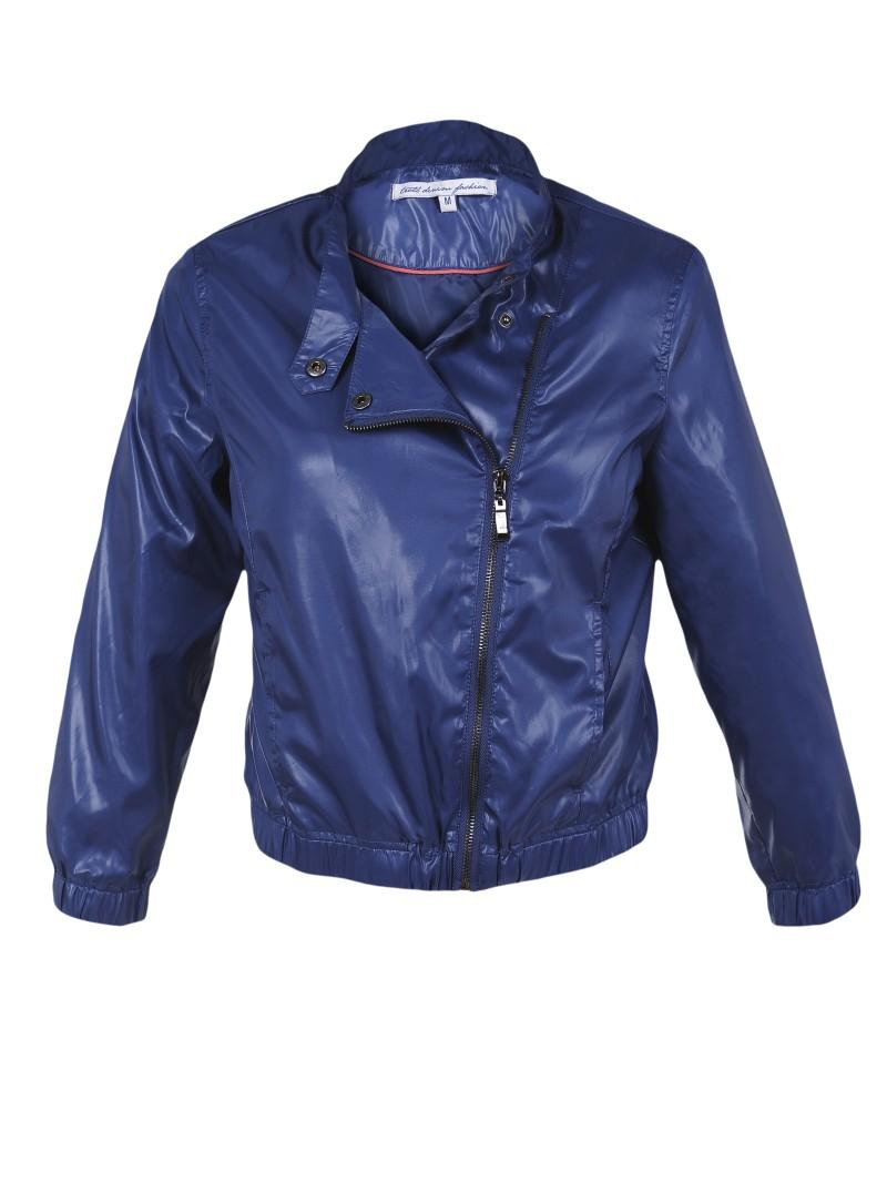 niebieska kurtka Troll - trendy wiosna-lato