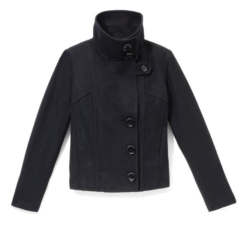 czarna kurtka Reserved - wiosna 2011