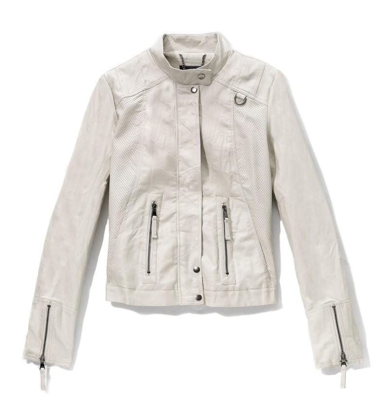 biała kurtka Reserved - kolekcja wiosenno/letnia