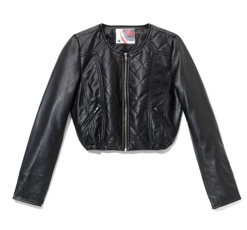 czarna kurtka Reserved - moda 2011