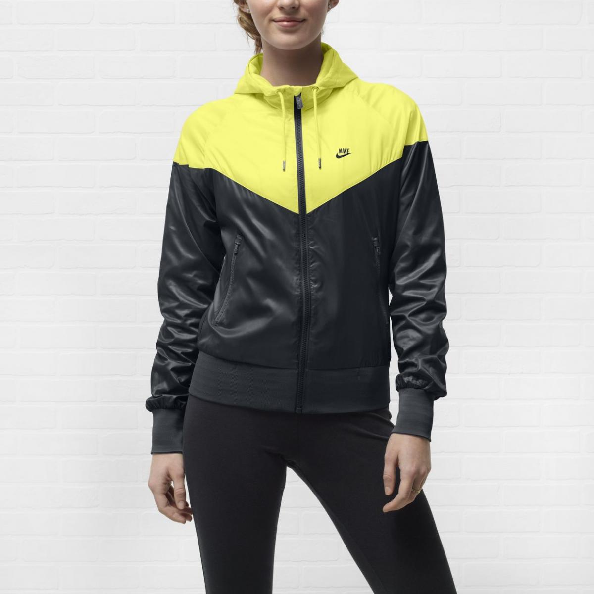 sportowa kurteczka Nike w kolorze czarno-żółtym - wiosna i lato 2013