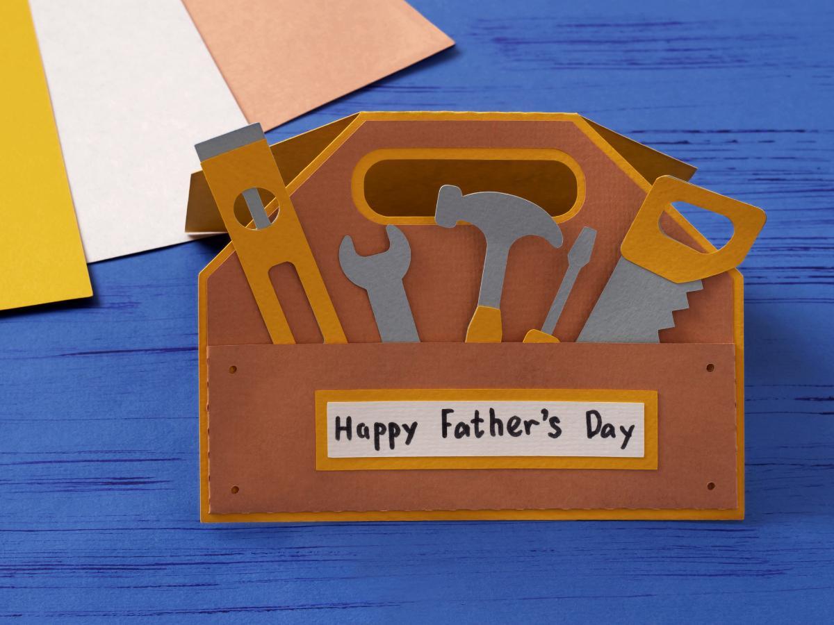 Laurka dla taty - skrzynka z narzędziami