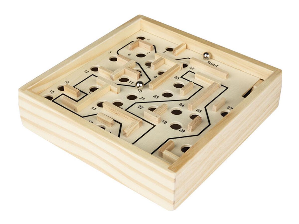 Drewniany labirytnt z Lidla
