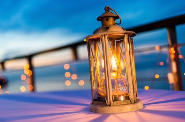 Szklany lampion SWEET HOME, Dekoracja Domu, cena: 18,90 zł