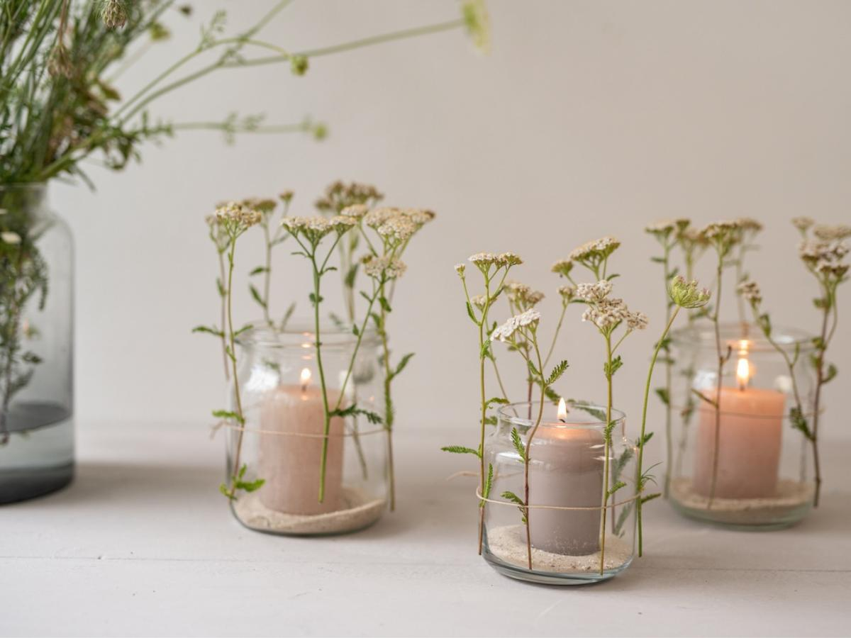 Lampion z kwiatami - krok 3/ Mak Media/Flora Press