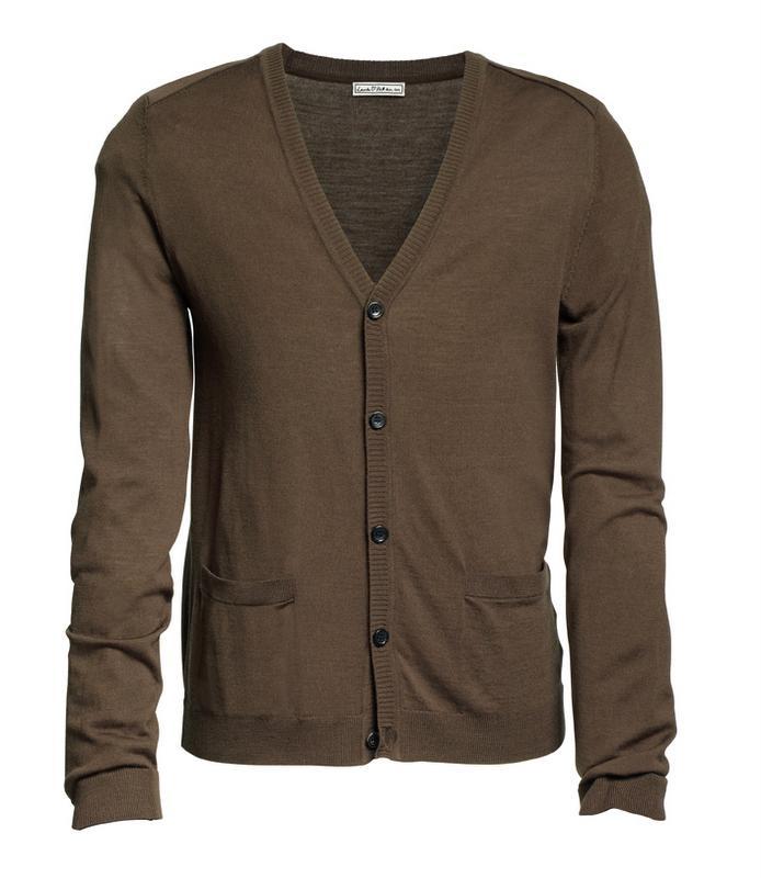 brązowy sweter H&M - jesień/zima