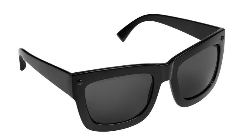 czarny okulary przeciwsłoneczne H&M - moda zimowa