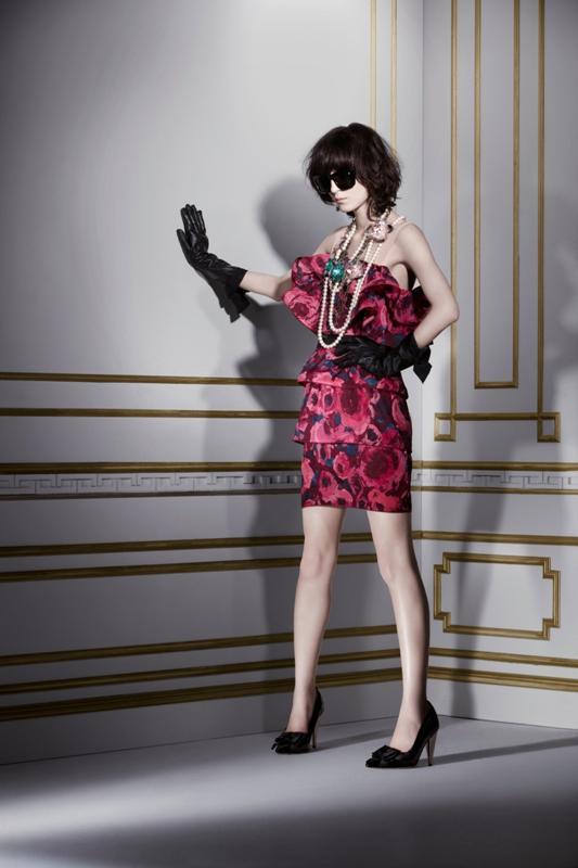 Lanvin dla H&M - lokkbook kolekcji damskiej - listopad 2010