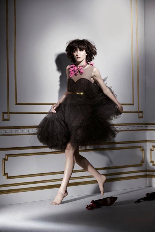 Lanvin dla H&M - lookbook kolekcji damskiej - listopad 2010