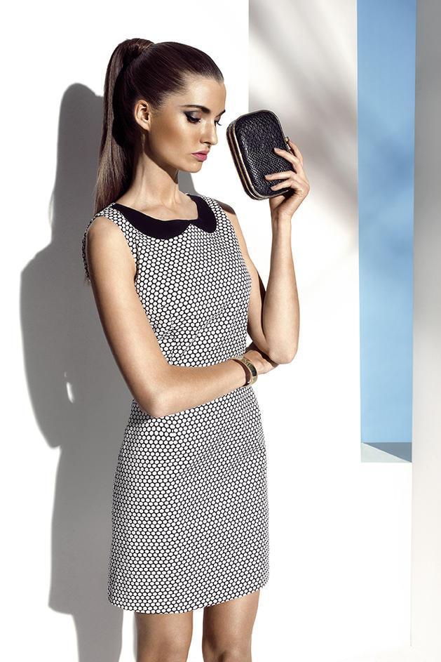 sukienka Mohito we wzorki - lato 2013